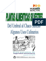 Plantas Alimenticias Silvestres - Salta (1)