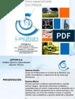 Lepton Lab 2012 Portafolio