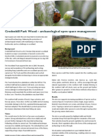 Credenhill Park Wood - Archaeological Open Space Management
