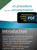 Export Procedures and Documentation (1)