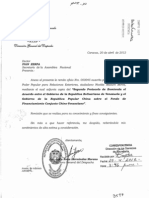 Acuerp Enmienda Fondo Financiamiento Chino Venezolano 15-05-12