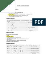 Resumen de Formulas de Excel