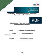 Trabajo Practicas Preprofesional Zysconsac