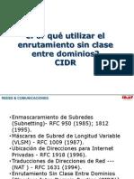 001 Direccionamiento Avanzado IP