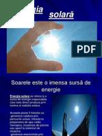 Energia Solara - Sursa de Energie Netraditionala