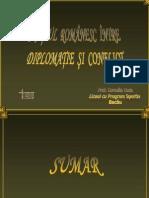 0 Spatiul Romanesc Intre Diplomatie Si Conflict