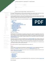 Princípios básicos da Google Maps Javascript API V3