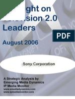 To c Sony Spotlight Report 0806