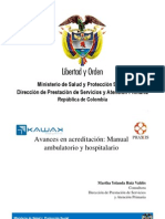 Manual de Acreditación Ambulatorio y Hospitalario Completo