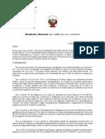 Directiva Regional Leishmaniosis 2007
