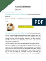Guinea Pig Dissertation