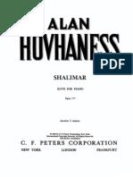 Hovhaness - Shalimar (1959)