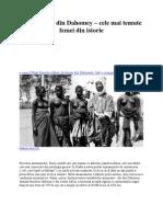 Amazoanele Din Dahomey