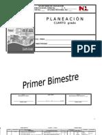 Planeación anual 4º to print