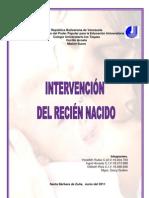 INTERVENCIÓN DEL RECIÉN NACIDO