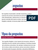 Definiciones Tipos de Proyectos