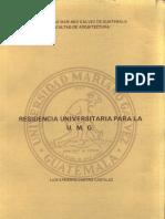 Residencia Universitaria Para La UMG
