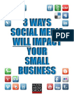 3 Ways Social Media Will Impact Your Small Business