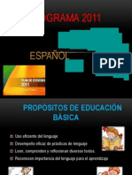 Programa Esp. 2011 s