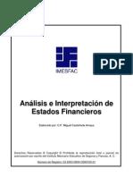 Imesfac Analisis Interpretacion Estados Finacieros