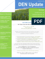 Development Executives Network - June-July 2012 newsletter