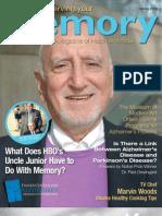Alzheimer's Magazine - Preserving Your Memory - Spring08