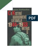 J.Starkauskas Čekistinė kariuomenė Lietuvoje 1944-1953 metais