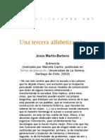 Una tercera alfabetización - Entrevista con Marcela Castro
