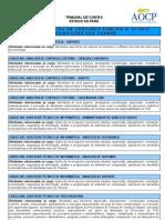 Anexo I Do Edital de Abertura de Concurso Publico n 01 2012 Dos Cargos