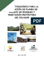 Planes de Manejo de  Bosques Protectores