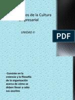 Fundamentos de La Cultura Empresarial