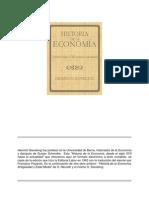 Sieveking Heinrich - Historia de La Economia