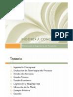 Diplomado Proyectos Presentacion Tema 1 - Ingeniería  Conceptual