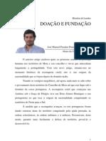 03 Concelho de Mora - Doação e Fundação