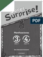 Super Surprise Planificaciones 3-4