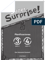 Super Surprise Planificaciones 3-4