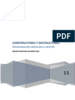 Constructores y Destructores