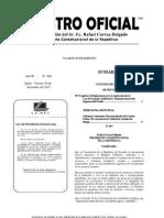 Reglamento Ley de Fomento Ambiental