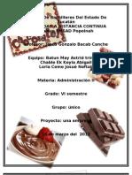 Empresa de Chocolates Tentazion