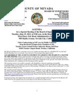 Nevada County BOS Agenda 06-17-2012