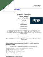 Arhivele Electronice. Manual Practic. Franta