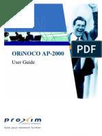 Manual AP-2000 PROXIM_1