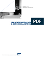 Six Best Practices to Ensure eSourcing Adoption