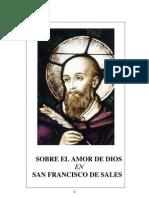 Sobre el Amor de Dios en S. Francisco de Sales