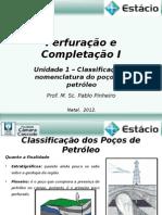 Perfuração e Completação_Unidade_01 e 02_Classificação e nomenclatura os poços