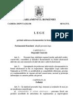 Lege 135 Din 2007 Privind Arhivarea Electronica