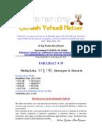 Parashat Shelaj Leka # 37 Adul 6012