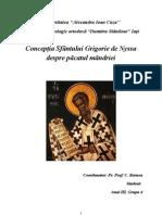 Pacatul Mandriei in Conceptia Sfantului Grigorie de Nyssa