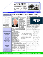 January 2008 - House Of Prayer Newsletter