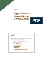Aula7 - Organização - FAMES